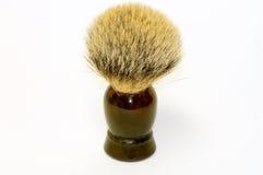 Escova de rapagem da pele do texugo Fotografia de Stock