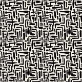 A escova de repetição sem emenda da tinta de matéria têxtil afaga o teste padrão na garatuja g Imagens de Stock Royalty Free