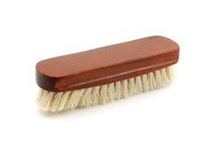 Escova de roupa de madeira Foto de Stock Royalty Free