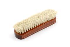 Escova de roupa de madeira Foto de Stock