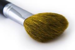 Escova do pó de face Imagem de Stock Royalty Free