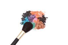 Escova e cores da composição Imagem de Stock Royalty Free