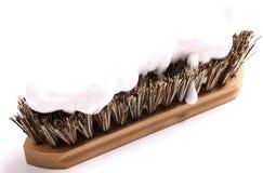 Escova e sabão Fotografia de Stock