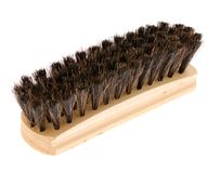 Escova para a sapata Fotografia de Stock