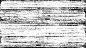 A escova pinta na tinta branca ilustração do vetor