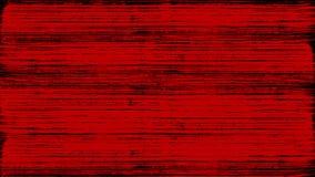 A escova pinta na tinta vermelha ilustração stock