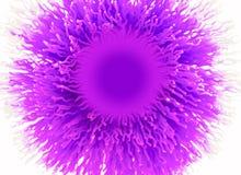 Escova roxa abstrata Foto de Stock