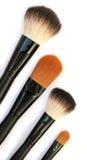Escovas cosméticas foto de stock royalty free