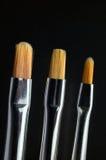 Escovas da arte Fotos de Stock
