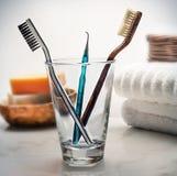 Escovas de dentes Imagens de Stock