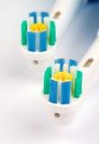 Escovas de dentes elétricas imagem de stock