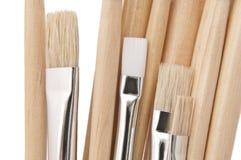 Escovas de pintura do artista. Imagem de Stock Royalty Free