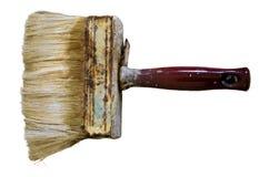 Escovas de pintura no fundo transparente Fotografia de Stock