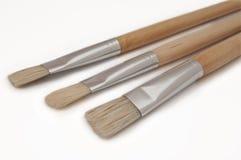 Escovas do artista. Foto de Stock