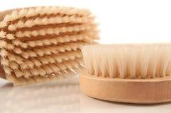 Escovas do corpo. Imagem de Stock