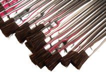 Escovas do metal Fotografia de Stock Royalty Free