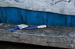 Escovas em repouso Foto de Stock