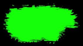 Escove o curso na superfície O elemento preparado para quadros de mistura vídeos de arquivo