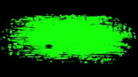 Escove o curso na superfície O elemento preparado para quadros de mistura filme