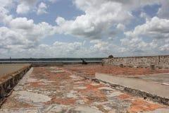 Escravo Route Museum em Matanzas e nas nuvens, Cuba Foto de Stock