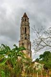 Escravo Watch Tower - Manaca Iznaga, Cuba fotografia de stock royalty free