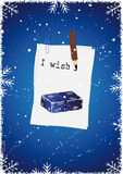 Escreva seus desejos. Imagens de Stock