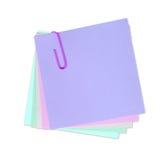 Escreva sua própria nota nela! Fotos de Stock