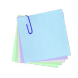 Escreva sua própria nota nela! Imagens de Stock