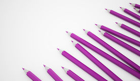 Escrevem o conceito rendido ilustração stock