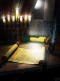 Escrevendo o Torah imagens de stock royalty free