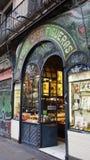 Escriba-Bäckerei in Barcelona Stockfotos