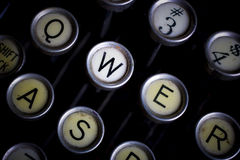 Escriba a máquina Imagenes de archivo