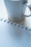 Escriba un diario Fotos de archivo libres de regalías