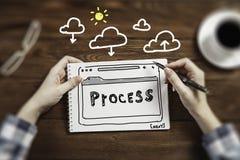 Escriba un plan empresarial imagenes de archivo