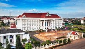 Escritório administrativo do governo, Vientiane, Laos Imagem de Stock Royalty Free