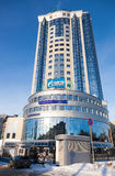 Escritório administrativo e supervisório Gazprom Foto de Stock