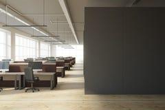 Escritório coworking moderno com copyspace Fotografia de Stock Royalty Free