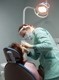 Escritório da cirurgia dental Fotografia de Stock Royalty Free
