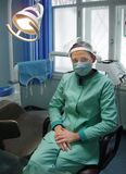 Escritório da cirurgia dental fotos de stock