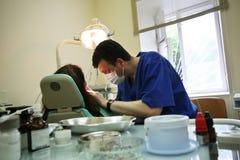 Escritório da cirurgia dental Foto de Stock