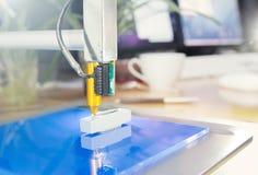 escritório da impressora 3D Imagem de Stock