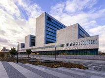 Escritório de Europol Fotografia de Stock Royalty Free