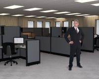 Escritório de Marheting das vendas do negócio, trabalhador Imagem de Stock Royalty Free