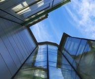 Escritório de vidro Fotografia de Stock Royalty Free