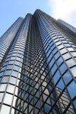 Escritório de vidro do Highrise Imagem de Stock