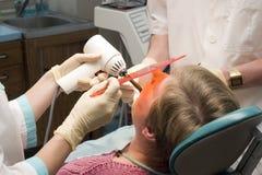 Escritório dental fotos de stock