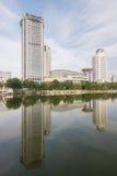 Escritório do Banco da China de Agricultura no rd zijinshan Tianjin, qui Imagens de Stock