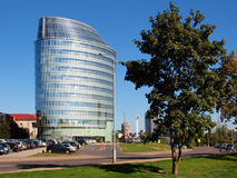 Escritório do banco de Barclays na cidade de Vilnius Imagem de Stock Royalty Free