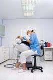 Escritório do dentista Imagem de Stock Royalty Free
