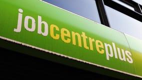 Escritório do desemprego Foto de Stock Royalty Free